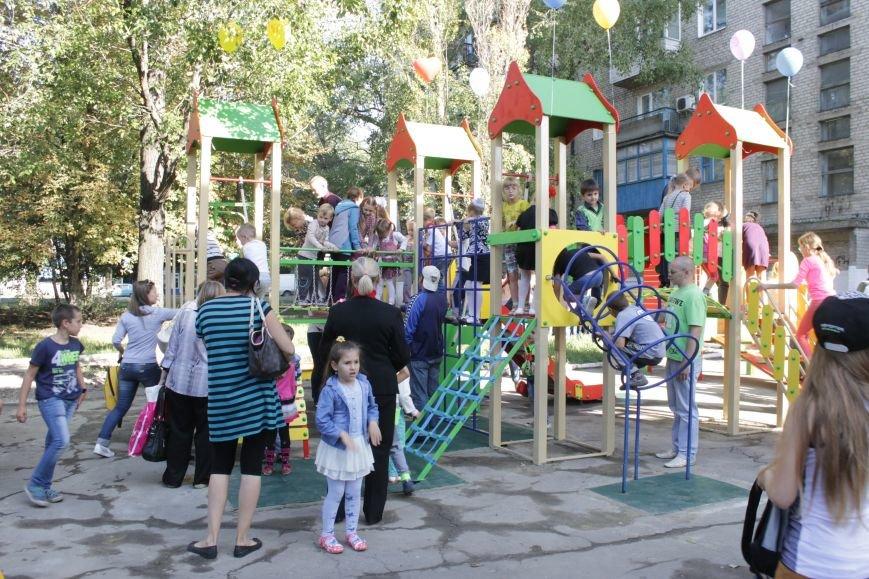 В Доброполье на одну детскую площадку стало больше (ФОТО), фото-14