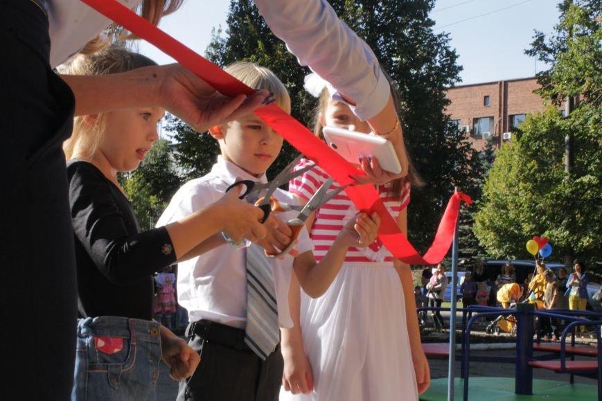 В Доброполье на одну детскую площадку стало больше (ФОТО), фото-10