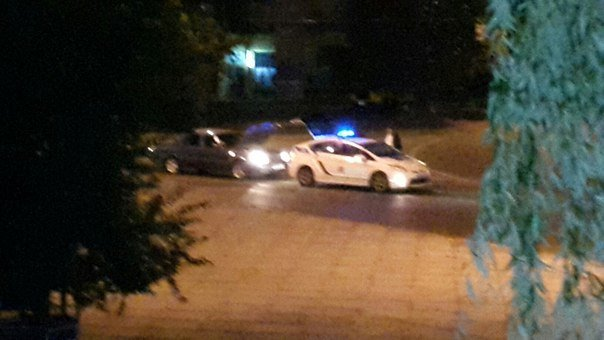 У Львові «Волга» в'їхала в машину патрульної поліції (ФОТО (фото) - фото 1