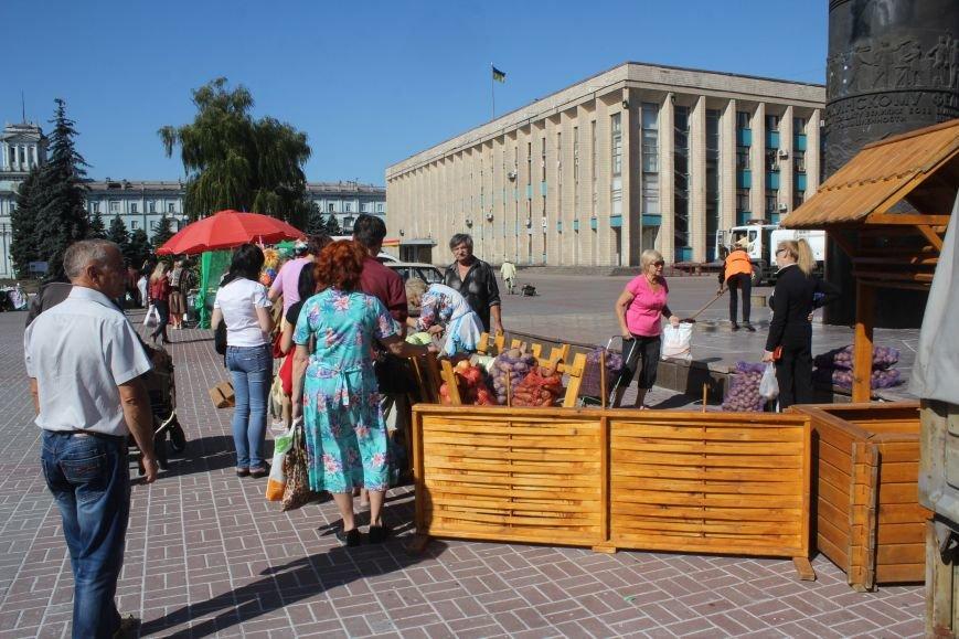 В Днепродзержинске открылась ярмарка «Золотая осень» (фото) - фото 1