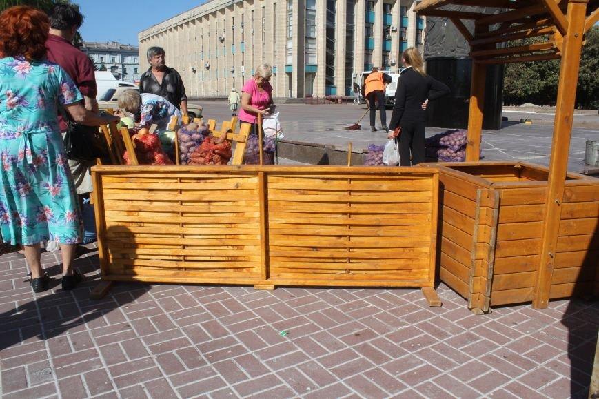 В Днепродзержинске открылась ярмарка «Золотая осень» (фото) - фото 16