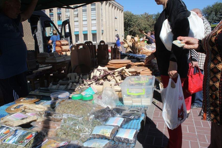 В Днепродзержинске открылась ярмарка «Золотая осень», фото-13