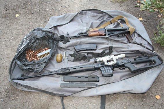 На Полтавщині у крадіїв виявили арсенал зброї (фото) - фото 1