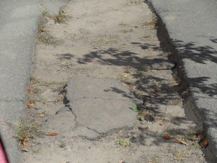 Полтавські тротуари: хода з перепонами (фото) - фото 1