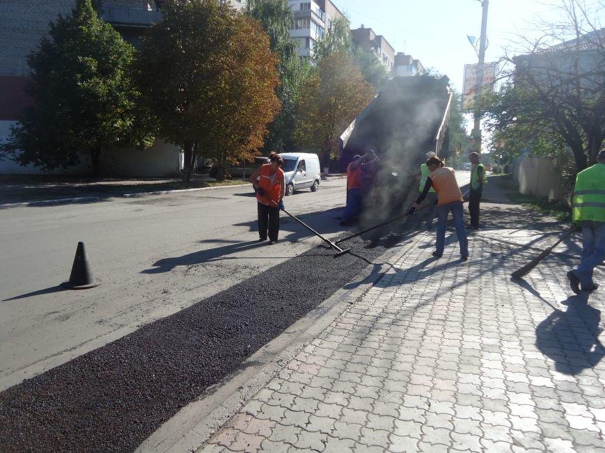 Дороги Красноармейска продолжают совершенствовать (фото) - фото 2