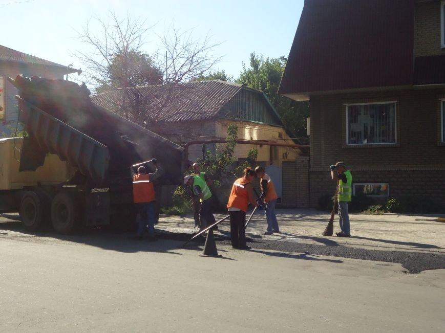 Дороги Красноармейска продолжают совершенствовать (фото) - фото 1