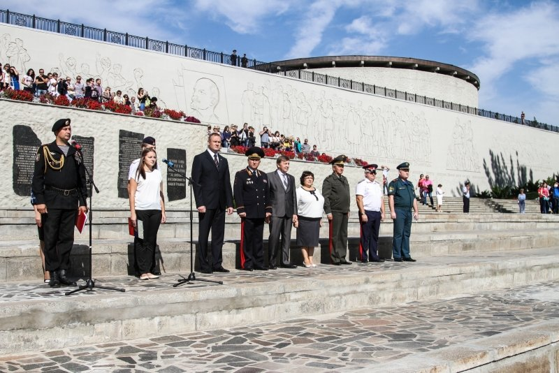 Волгоградские кадеты приняли присягу на Мамаевом Кургане, фото-5