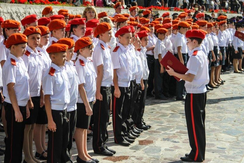 Волгоградские кадеты приняли присягу на Мамаевом Кургане, фото-4