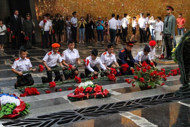 Волгоградские кадеты приняли присягу на Мамаевом Кургане, фото-6