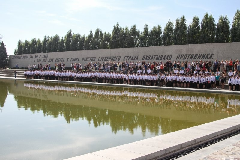 Волгоградские кадеты приняли присягу на Мамаевом Кургане, фото-2
