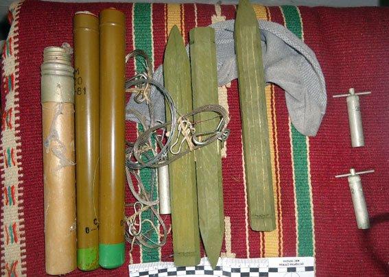 На Полтавщині чоловік вдома зберігав ареснал зброї (фото) - фото 2