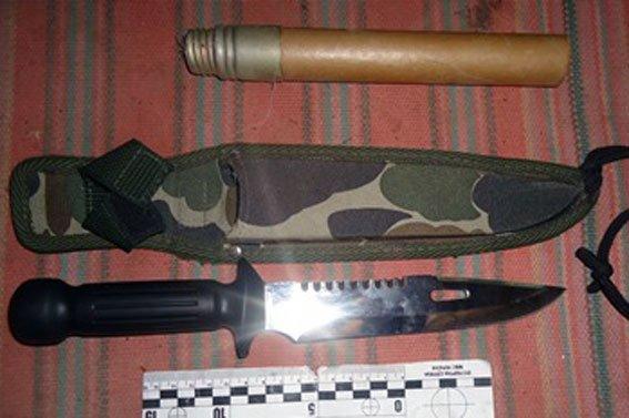 На Полтавщині чоловік вдома зберігав ареснал зброї (фото) - фото 3