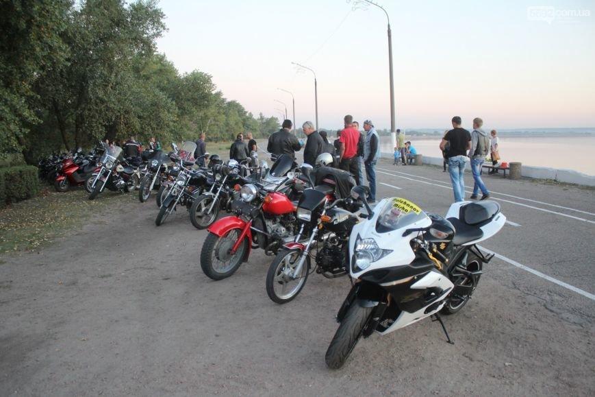 В Днепродзержинске почтили память погибших байкеров и участников АТО, фото-1