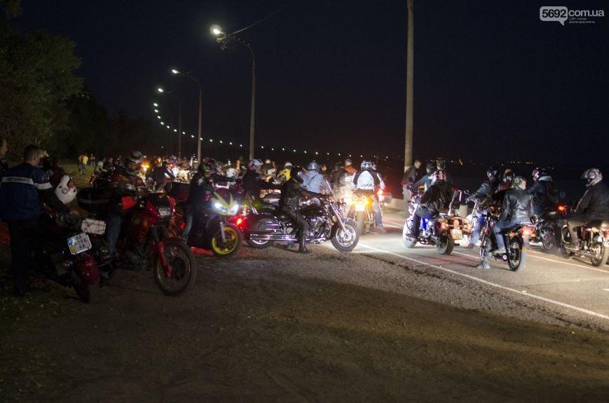 В Днепродзержинске почтили память погибших байкеров и участников АТО, фото-3