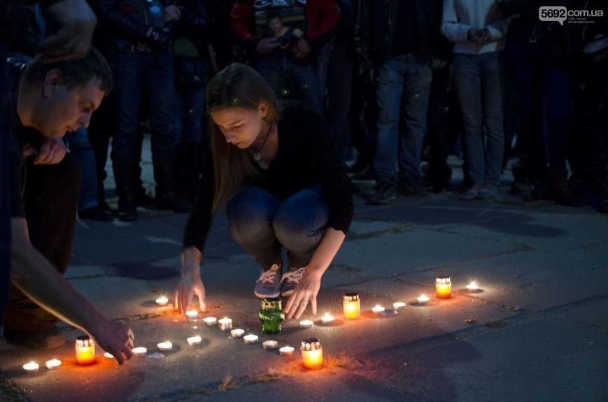 В Днепродзержинске почтили память погибших байкеров и участников АТО, фото-4