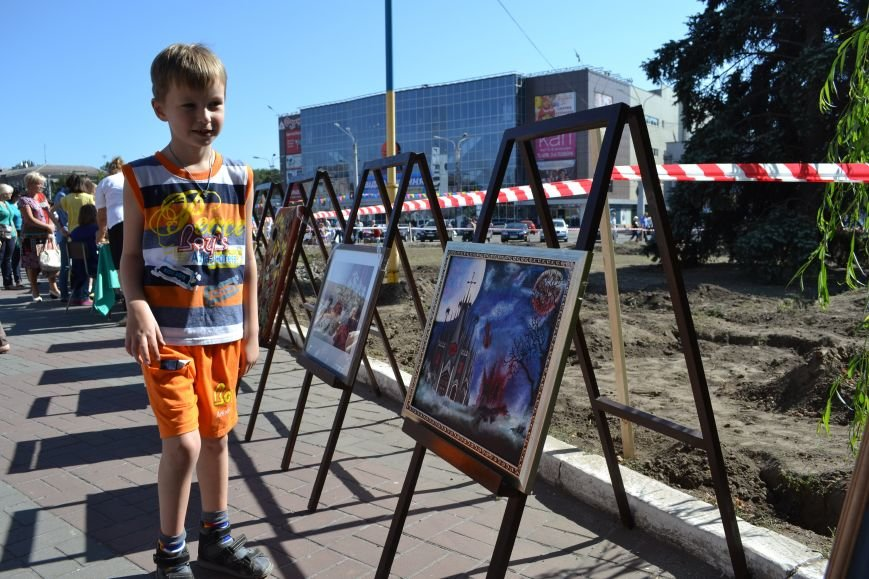 Днепродзержинцы отметили День рождения города, фото-7