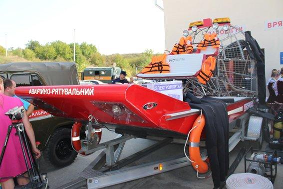 На Дністрі відкрили нову рятувальну станцію (Фото), фото-2