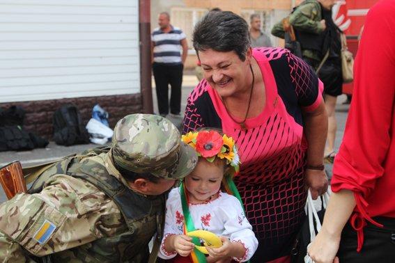 Рівненські міліціонери повернулися із АТО в повному складі (фото) - фото 4