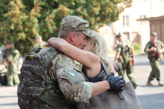 Рівненські міліціонери повернулися із АТО в повному складі (фото) - фото 2