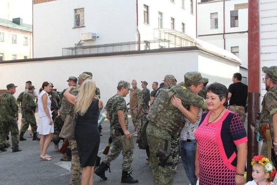 Рівненські міліціонери повернулися із АТО в повному складі (фото) - фото 1