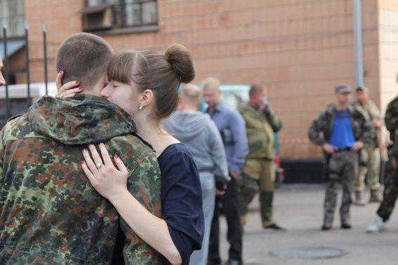 Рівненські міліціонери повернулися із АТО в повному складі (фото) - фото 3