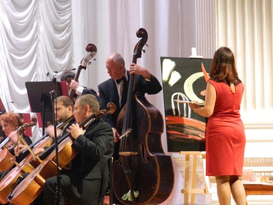 На открытии сезона в Запорожской филармонии презентовали белый рояль и нарисовали картину, - фоторепортаж (фото) - фото 11