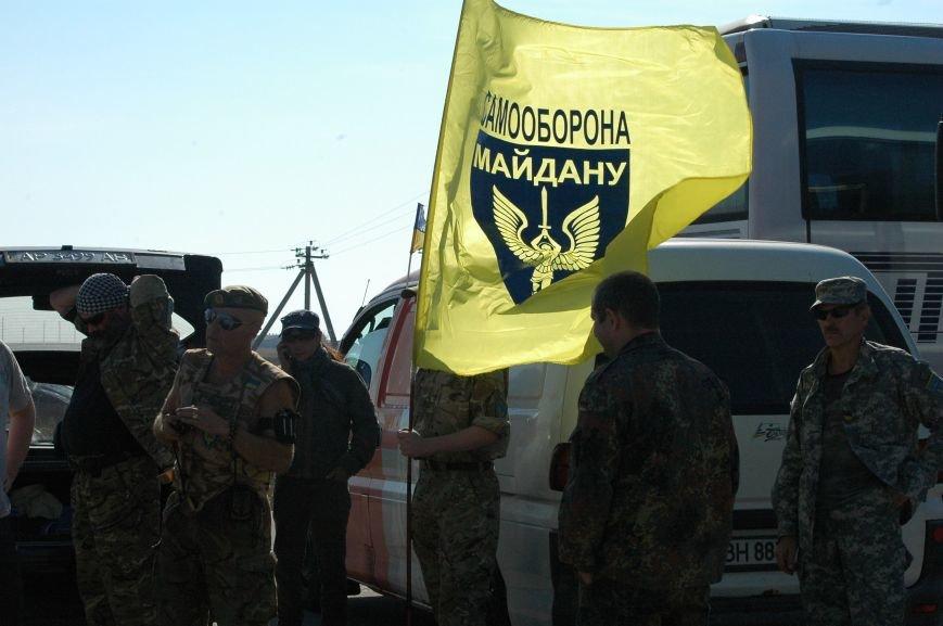 Украинские активисты заблокировали дорогу в Крым, - специальный фоторепортаж 061 из Чонгара, фото-1