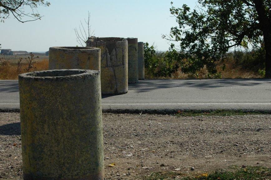 Украинские активисты заблокировали дорогу в Крым, - специальный фоторепортаж 061 из Чонгара, фото-13