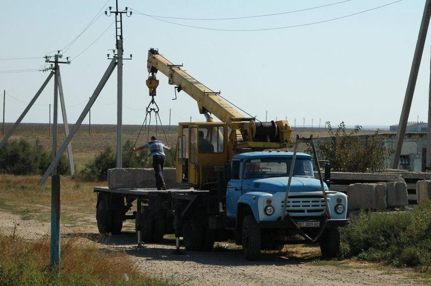 Украинские активисты заблокировали дорогу в Крым, - специальный фоторепортаж 061 из Чонгара, фото-16