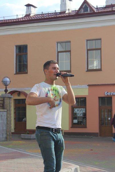 День города Гродно: в центре прошел фестиваль красок Color Fest (фотоотчет) (фото) - фото 5