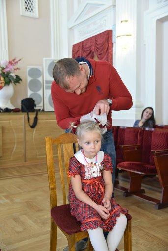 В Доме культуры Пушкинский прошел день семейного отдыха «Посвящение в кружковцы» (фото) - фото 6
