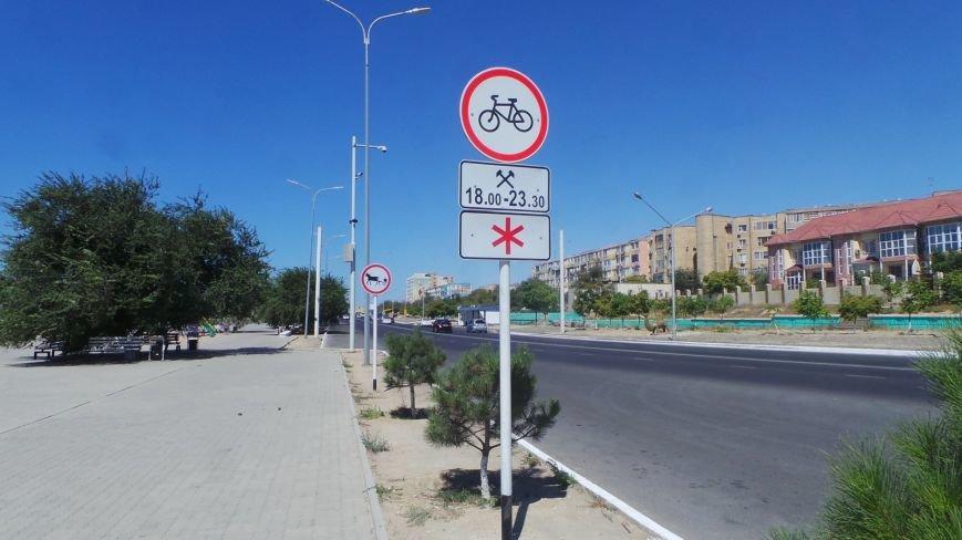 Альтернативную велодорожку строят в Актау, фото-1