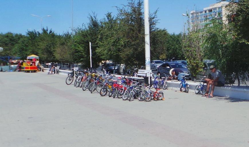 Альтернативную велодорожку строят в Актау, фото-2