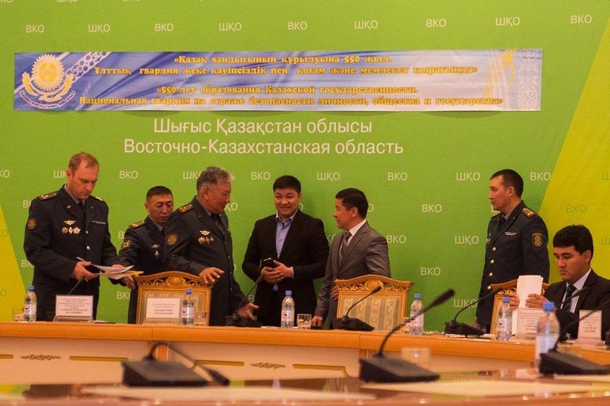 В Усть-Каменогорске прошла встреча гвардейцев с общественностью, фото-2