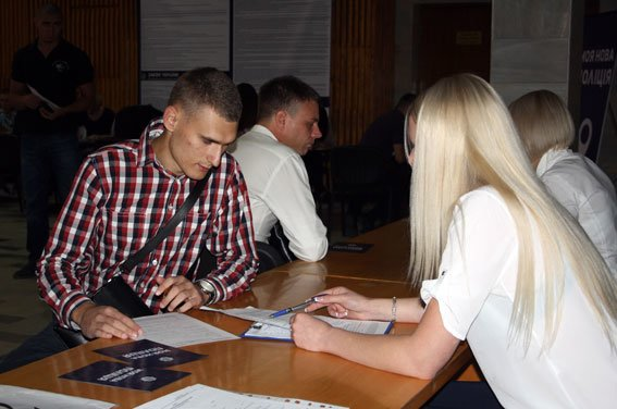 Набір до нової поліції стартував у Кременчуці (фото) - фото 1