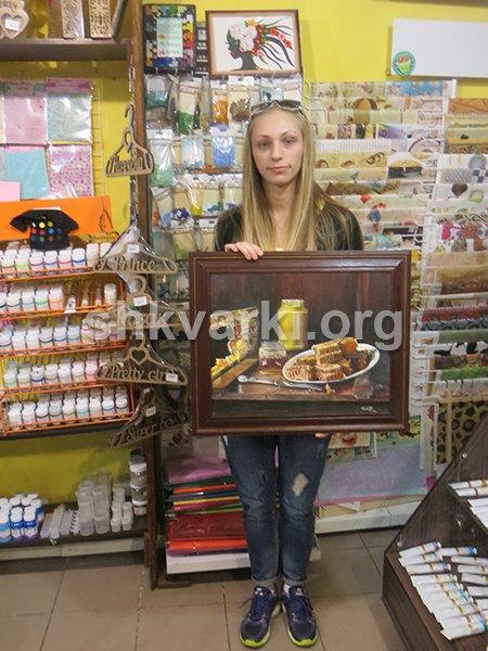 Авдеевская художница-переселенка нашла себе занятие по душе в чужом городе (фото) - фото 1