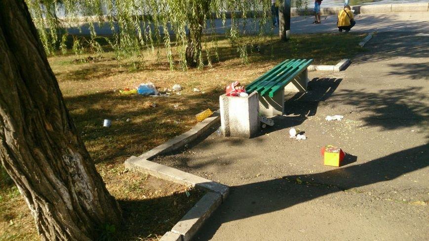 Николаевская набережная превращается в неухоженную свалку (ФОТО) (фото) - фото 3