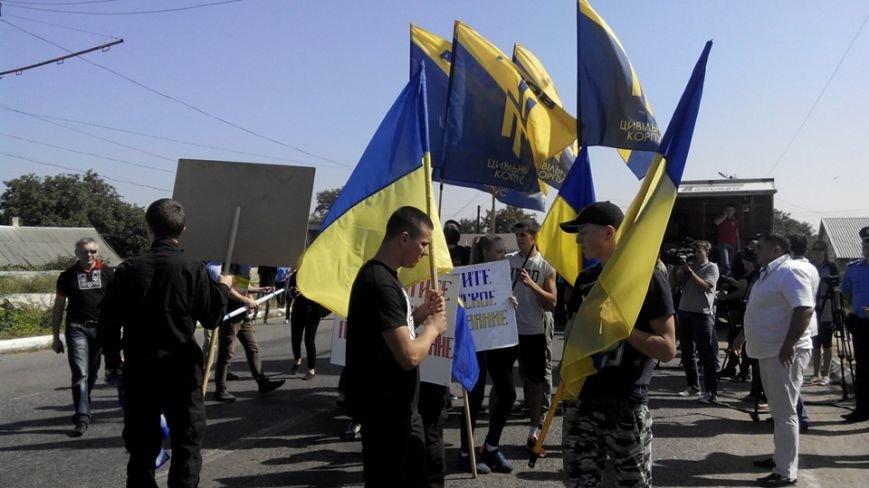 Одесситы заблокировали главную дорогу в Приднестровье (ФОТО), фото-3
