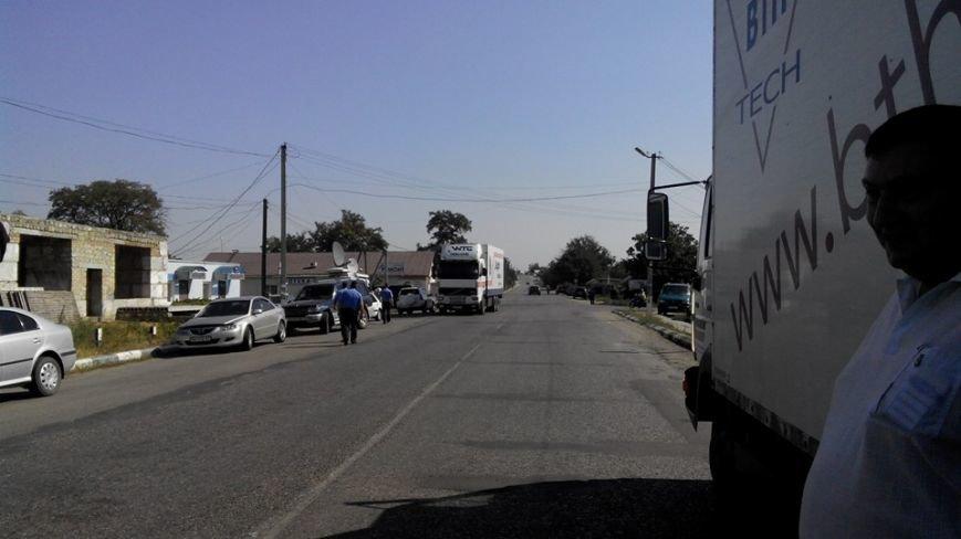 Одесситы заблокировали главную дорогу в Приднестровье (ФОТО), фото-1