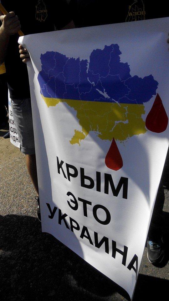 Одесситы заблокировали главную дорогу в Приднестровье (ФОТО), фото-5
