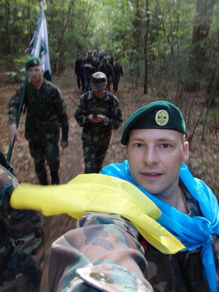 Украинский флаг поучаствовал в литовском походе (ФОТОРЕПОРТАЖ) (фото) - фото 4