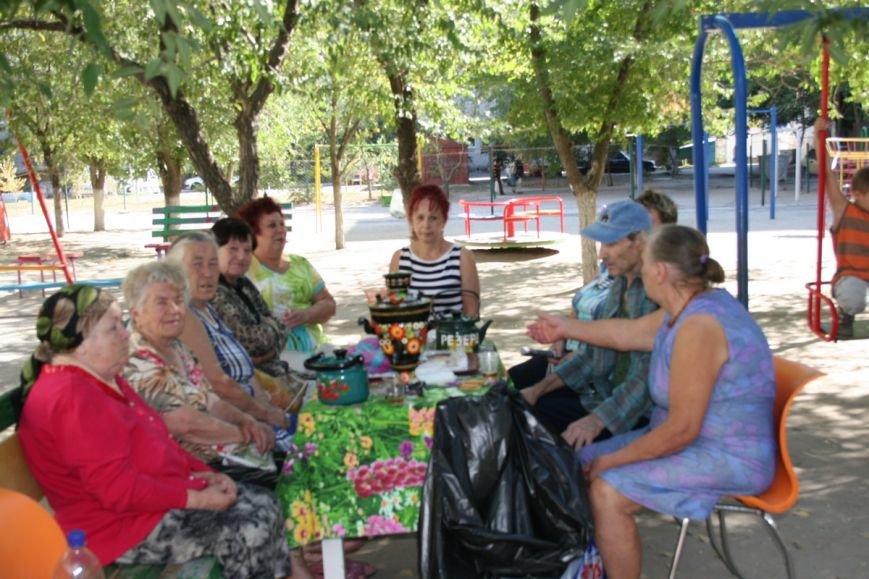 В Николаеве кандидат в депутаты распивала чай и играла в шахматы с избирателями (фото) - фото 3