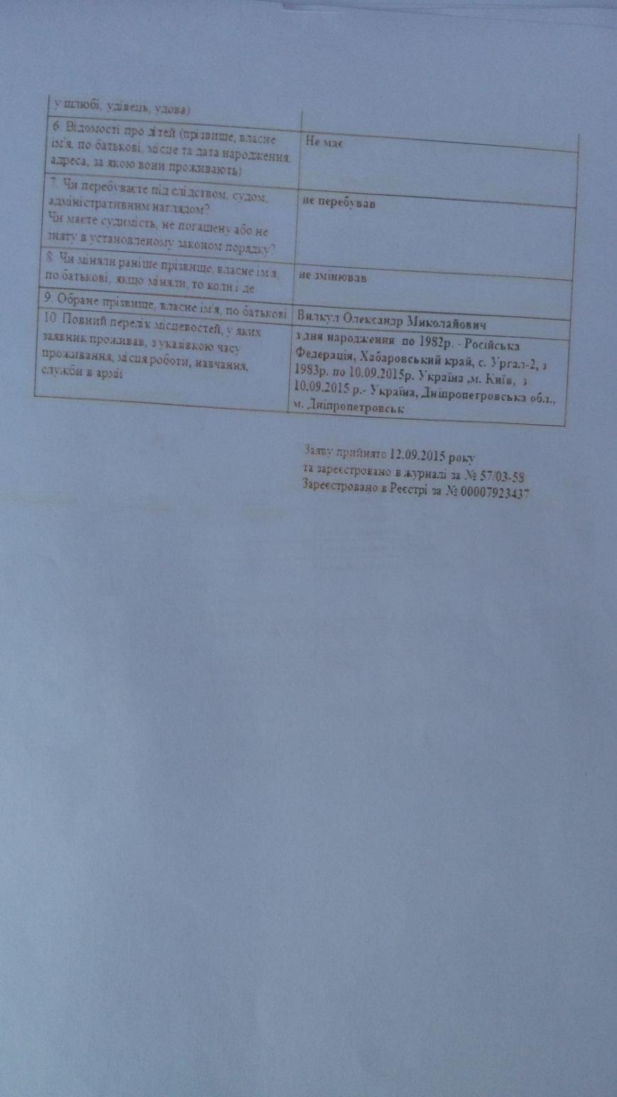 В Днепропетровске пытаются зарегистрировать двух людей под моим именем, чтобы вести грязную кампанию (фото) - фото 2