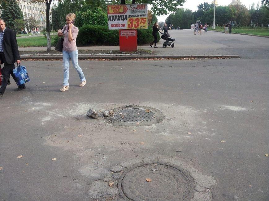 Особенности ремонтных работ на дорогах Славянска. ФОТОФАКТ (фото) - фото 3