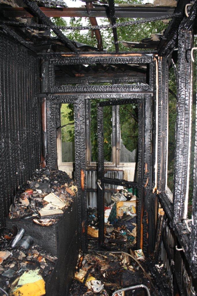 Запорожские спасатели опубликовали квартиры, которая сгорела вчера в Ленинском районе (ФОТО) (фото) - фото 1
