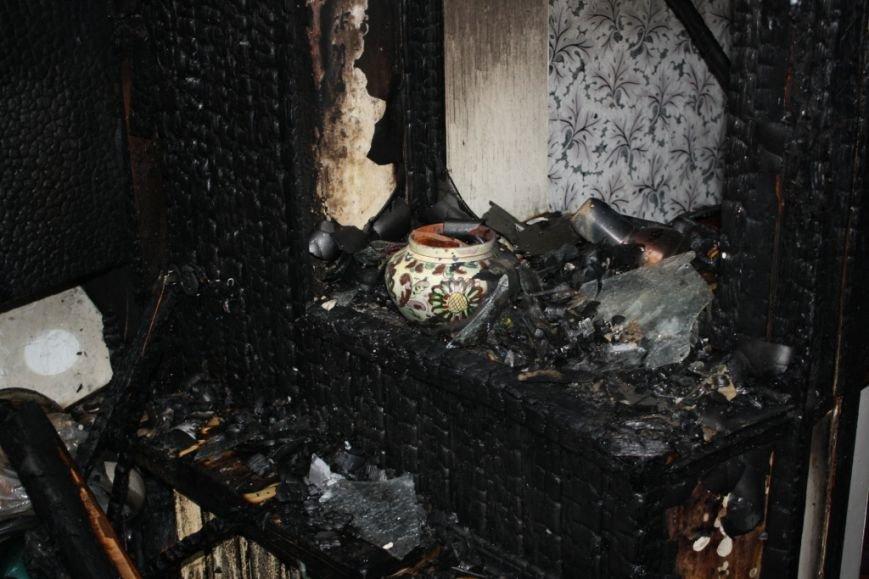 Запорожские спасатели опубликовали квартиры, которая сгорела вчера в Ленинском районе (ФОТО) (фото) - фото 2