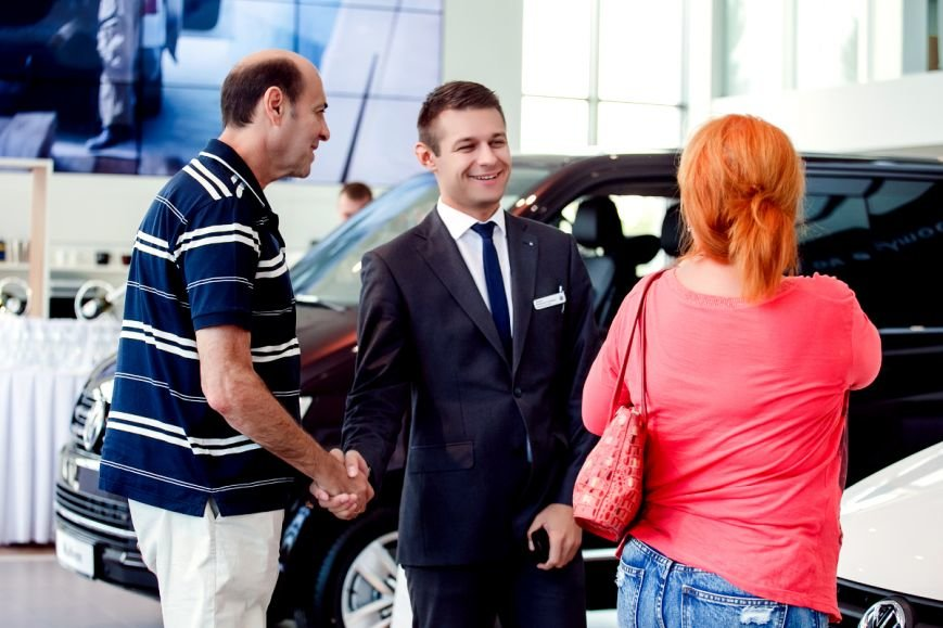 В Volkswagen Центр Кривой Рог прошла презентация коммерческой линейки автомобилей Transporter 6 и Caddy 4, фото-5