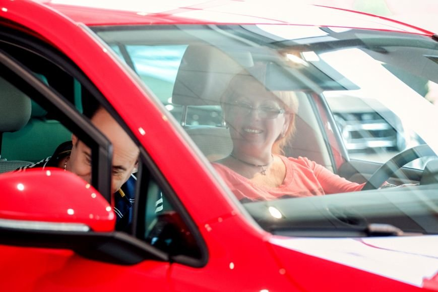 В Volkswagen Центр Кривой Рог прошла презентация коммерческой линейки автомобилей Transporter 6 и Caddy 4, фото-7