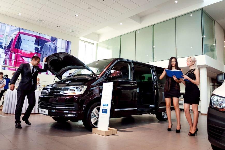 В Volkswagen Центр Кривой Рог прошла презентация коммерческой линейки автомобилей Transporter 6 и Caddy 4, фото-11