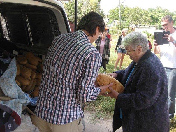 Запорожские волонтеры доставили в Авдеевку продукты питания и в конце недели планируют приехать снова (ФОТО) (фото) - фото 2